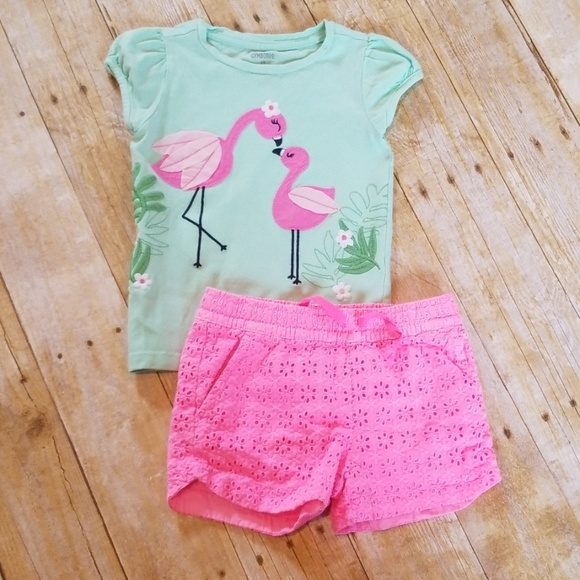 Gymboree The Green Scene Girls Size 3T Flower Shirt Top NWT NEW